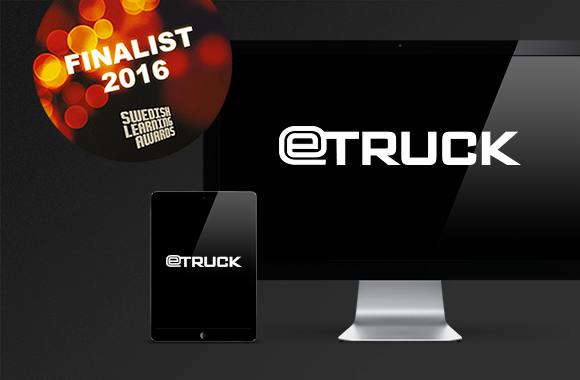 eTruck Finalist Swedish Learning Awards